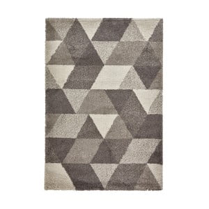 Sivý koberec Think Rugs Royal Nomadic Grey, 160 × 220 cm