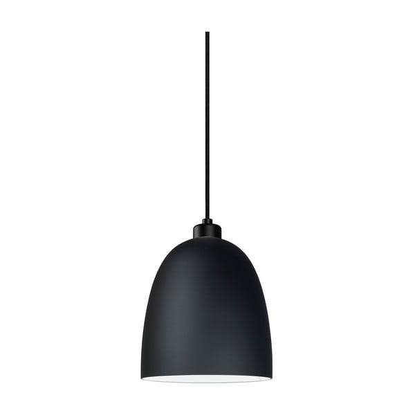 Čierne matné závesné svietidlo Sotto Luce AWA
