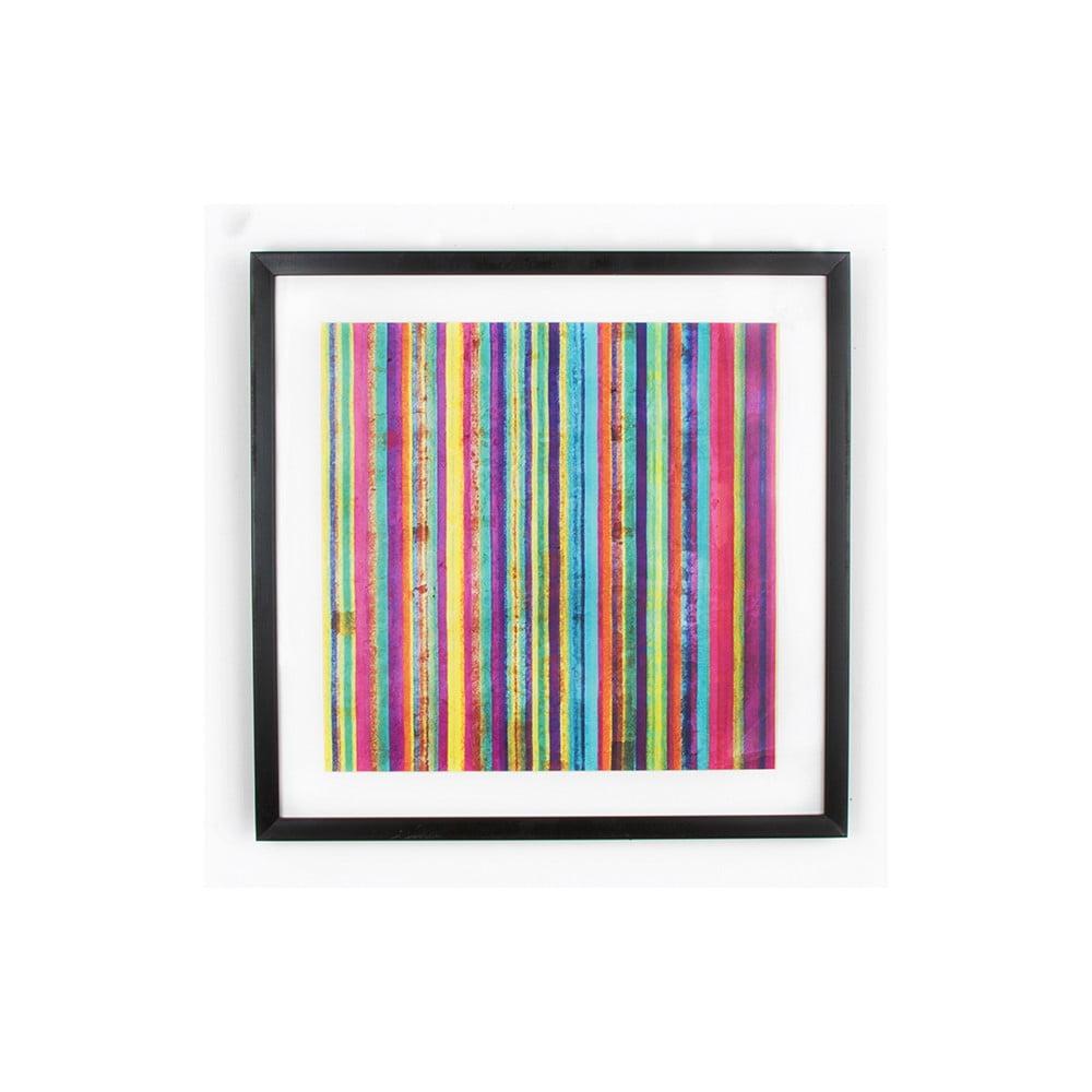 Obraz Graham & Brown Neon Stripe, 50 × 50 cm