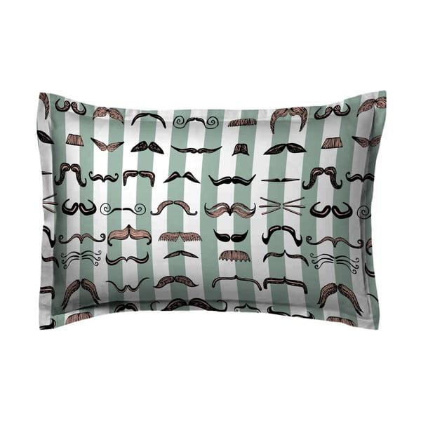 Obliečka na vankúš Hipster Moustache, 50x70 cm