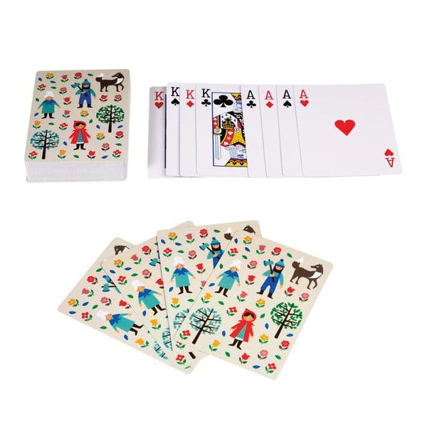 Hracie karty s motívom Červenej Čiapočky Rex London Red Riding Hood