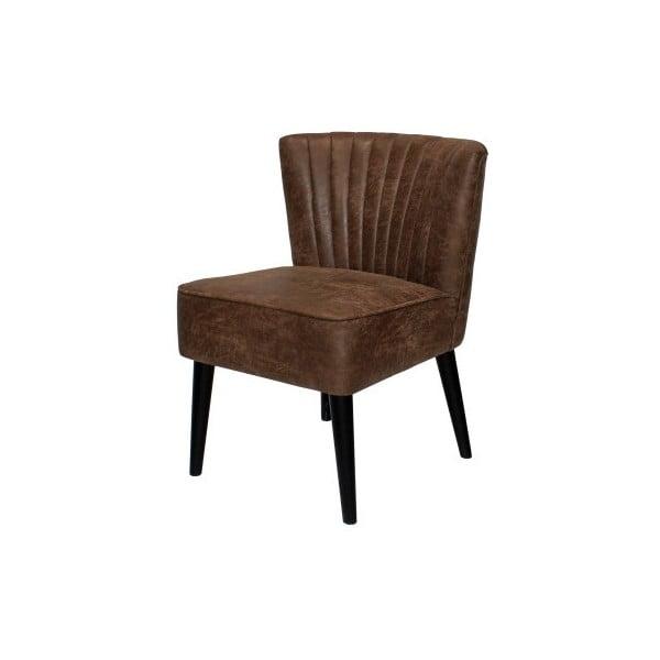 Hnedá stolička Canett Winston