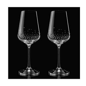 Sada 2 pohárov na víno Amon so Swarovski Elements v luxusnom balení