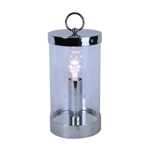 LED lampáš Candlestick 36 cm, strieborná
