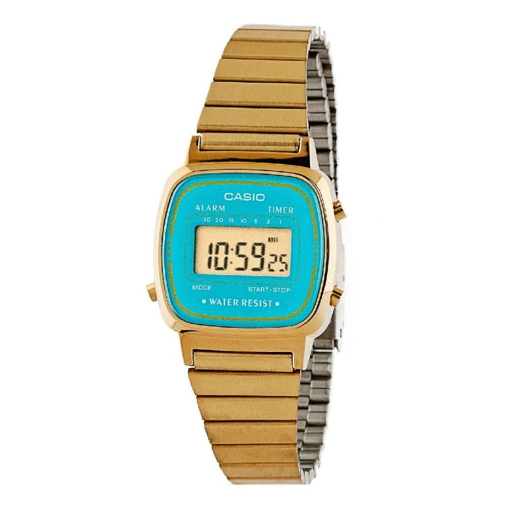 Dámske hodinky Casio Gold Blue  da2f47ac7bd