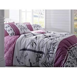 Obliečky s plachtou Bamboo Pink, 200x220 cm