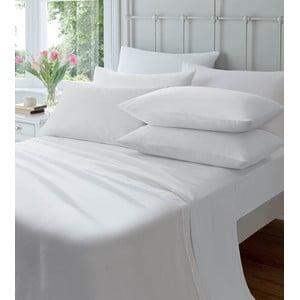 Elastická plachta Plain Flette White, 90x190 cm