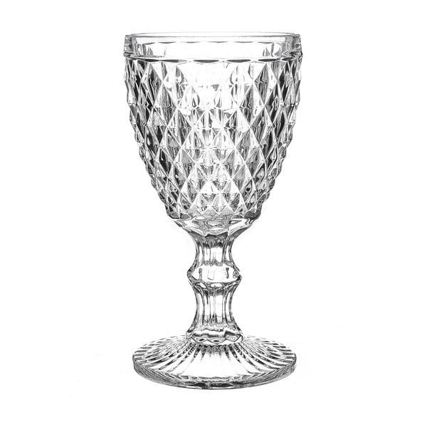 Sada 4 pohárov Unimasa Diamond, 220 ml