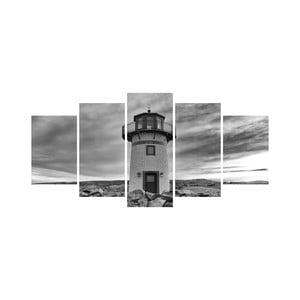 Viacdielny obraz Black&White no. 31, 100x50 cm