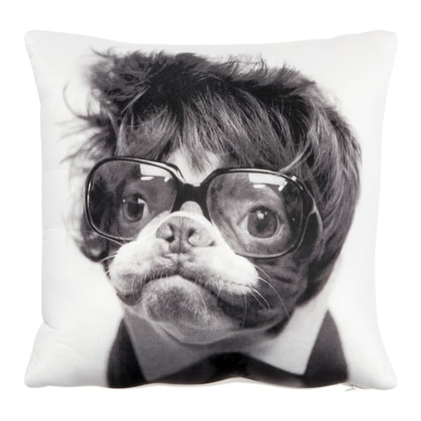 Vankúš s náplňou Dog with Hair, 30x30 cm