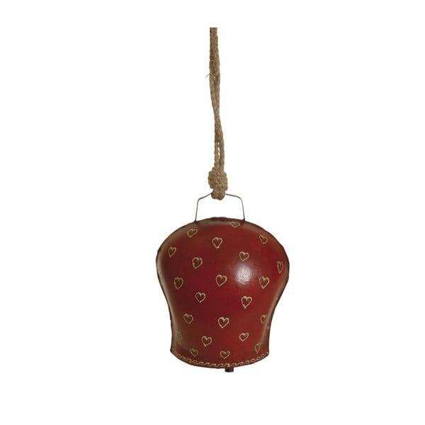 Závesný zvonček Red Heart