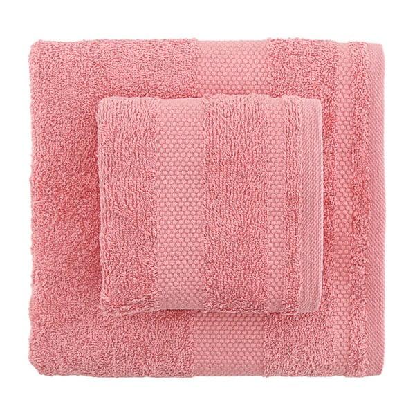 Sada 2 ružových uterákov Tommy