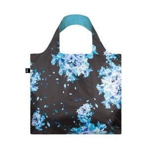 Skladacia nákupná taška skapsičkou LOQI Flower Bomb