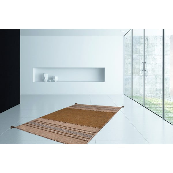 Koberec Native 325 Brown, 80x150 cm