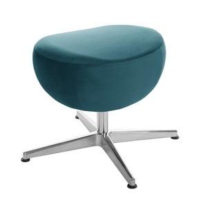 Tyrkysová otočná stolička/podnožka My Pop Design Monory