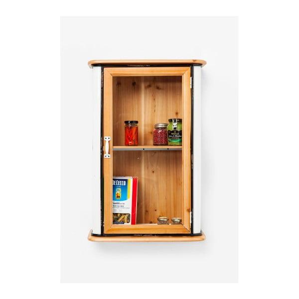 Hnedá nástenná komoda z jedľového dreva Kare Design Grannys