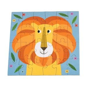 24-dielne puzzle Rex London Charlie The Lion
