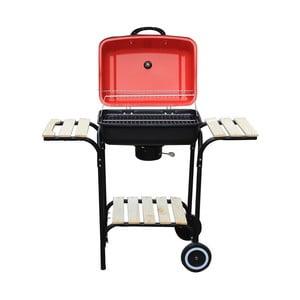 Červený záhradný gril Crido Consulting Barbecue