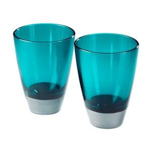 Sada 2 modrých pohárov Entity