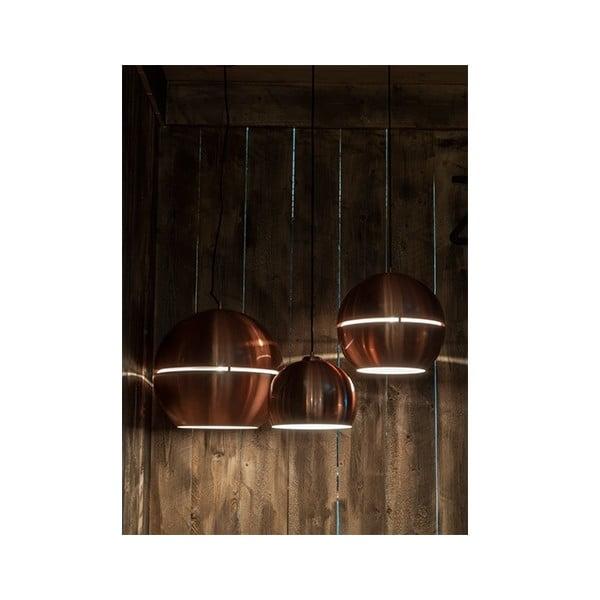 Stropné svietidlo v medenej farbe Zuiver Retro, Ø 50 cm