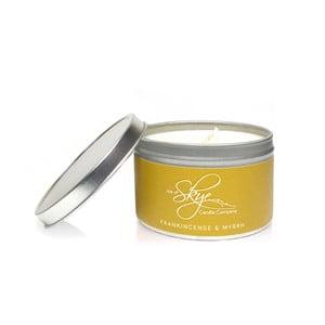 Sviečka s vôňou kadidla a myrhy Skye Candles Container, dĺžka horenia 30 hodín
