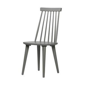 Sada 2 sivých jedálenských stoličiek De Eekhoorn Sticks