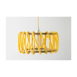 Žlté stropné svietidlo EMKO Macaron, 30cm