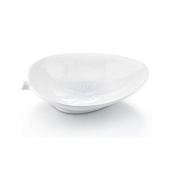 Porcelánový tanier Kvetina, 30x25 cm