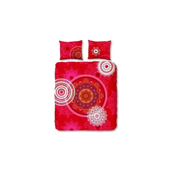 Obliečky Mandala Red, 200x200 cm