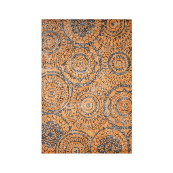 Vlnený koberec Ontario, 160x230 cm, oranžový