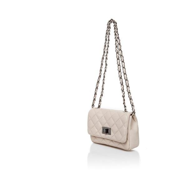 Kožená kabelka Markese 6997 Beige