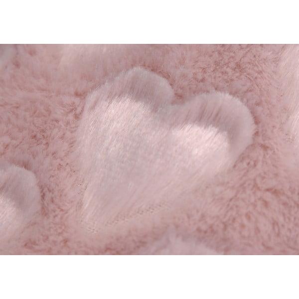 Deka Old Pink Amour, 170x130 cm