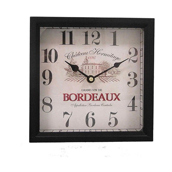 Hodiny Antic Line Bordeaux, výška 20 cm