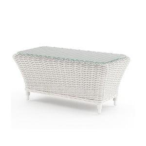 Biely záhradný stolík Oltre Leonardo