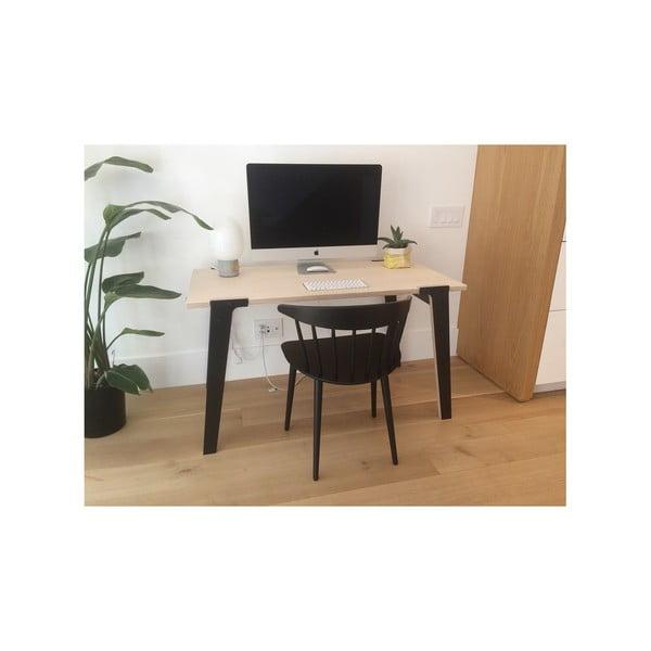 Čierny jedálenský/pracovný stôl rform Switch, doska 122x63cm