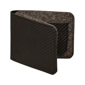 Pánska peňaženka z pravej kože Éstie, tmavosivá