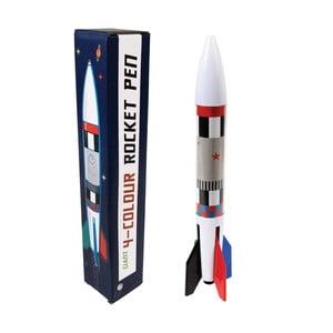 4-farebná fixa v tvare rakety Rex London Space Age