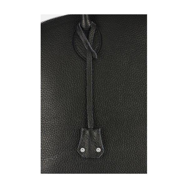 Kožená kabelka Giorgio Costa 15024 Black