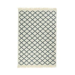 Modrý koberec Floorist Kare Blue,120x180cm