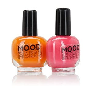 Sada 2 lakov na nechty NPW Beauty Junky Colour Changing Polish Orange