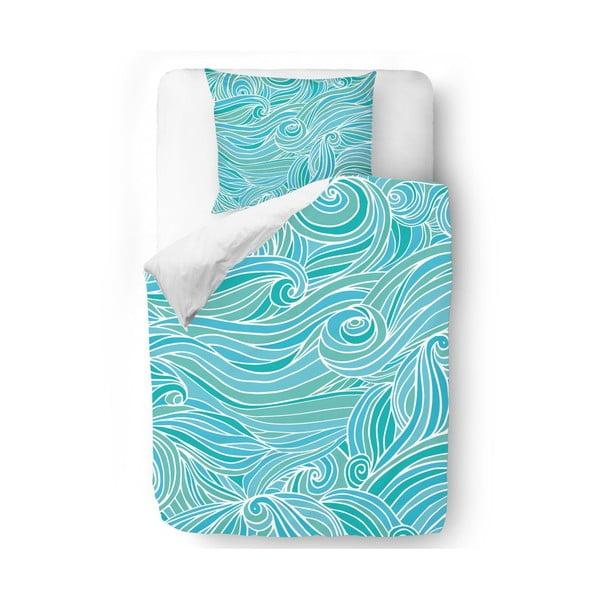 Obliečky Waves in Blue, 140x200 cm