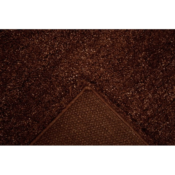 Vlnený koberec Himalaya Choco, 70x140 cm