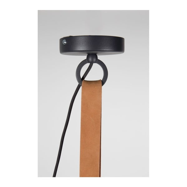 Tmavosivé stropné svietidlo Zuiver Dek, Ø 51 cm