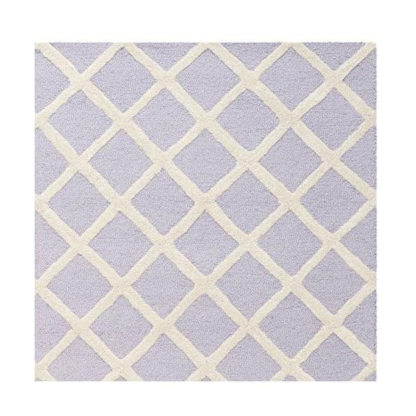 Vlnený koberec Sophie Light Purple, 182x274 cm