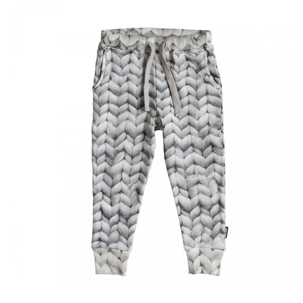 Sivé chlapčenské nohavice Snurk Twirre, 140