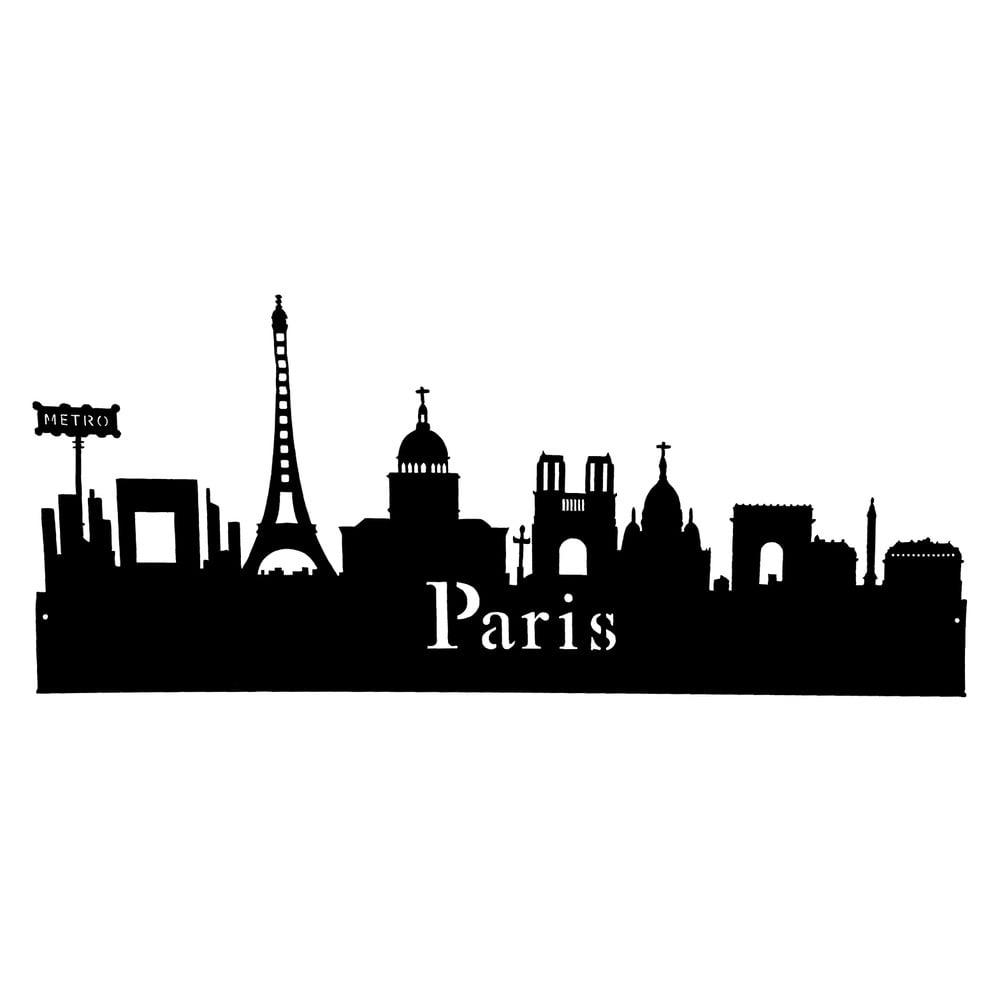 Nálepka na stenu Antic Line Paris