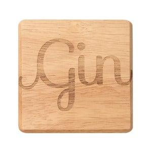 Podložka pod pohár z exotického dreva T&G Woodware Gin