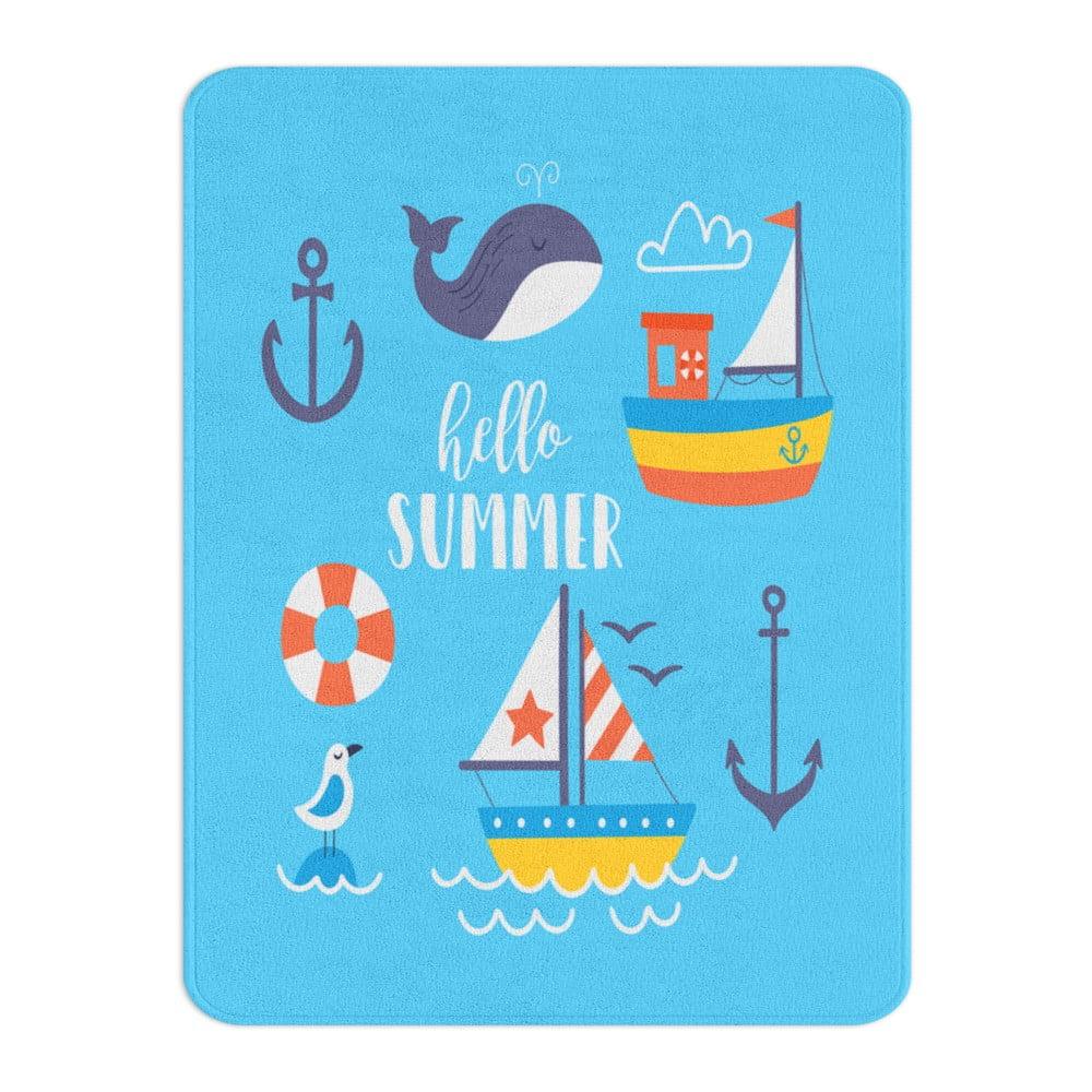 Detský koberec OYO Kids Hello Summer, 100 x 140 cm