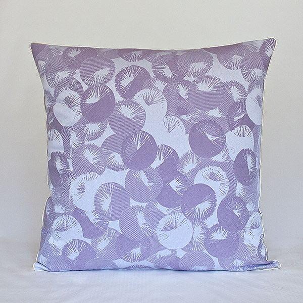 Vankúš s výplňou Violet Rings, 50x50 cm