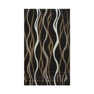 Tmavohnedý  koberec Webtappeti Charcoal, 160 x 230 cm